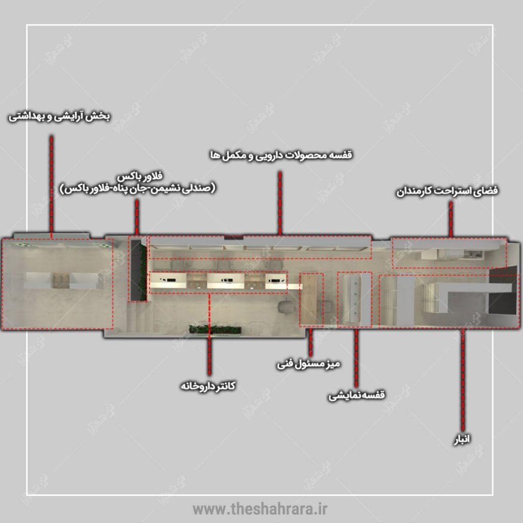 طراحی داروخانه دکتر محمدی